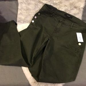 J Brand Hunter Green Pants